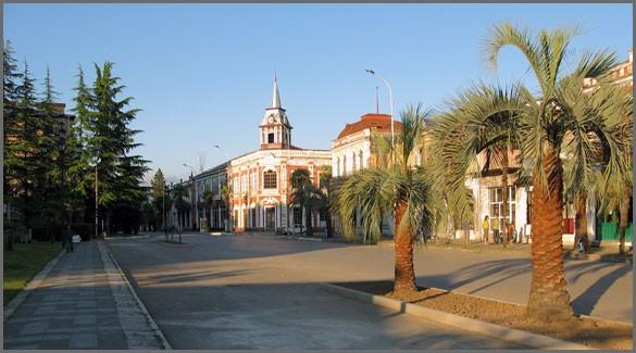 город Гудаута. Абхазия