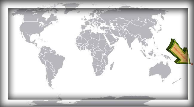 Американское Самоа на карте мира