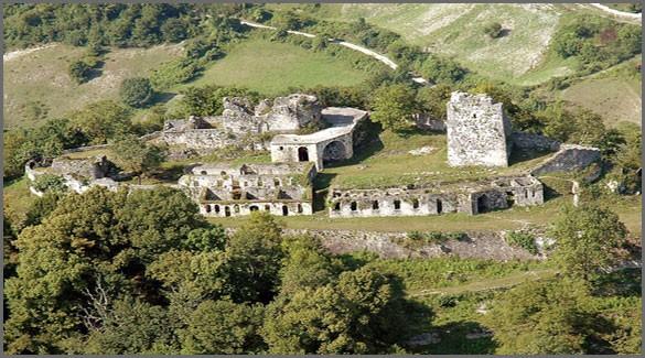 Анакопийская крепость. Абхазия