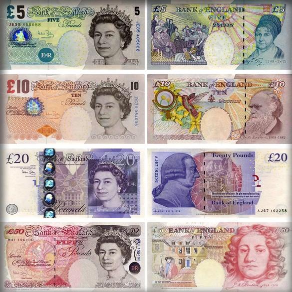 Банкноты Великобритании