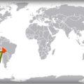 Боливия на карте мира