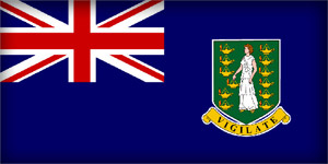 Флаг Британских Виргинских островов