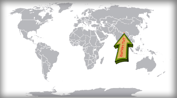 Где находится Бутан?