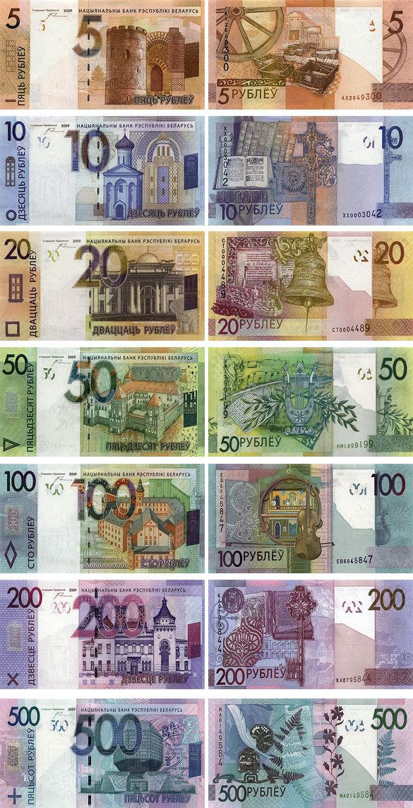 Банкноты Беларуси