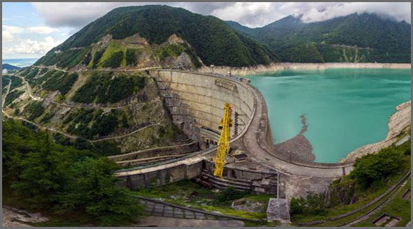 Гальское водохранилище. Абхазия