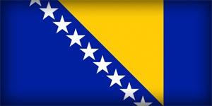 Государственный флаг Боснии и Герцеговины