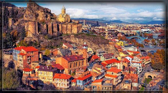 столица Грузии - Тбилиси (Tbilisi)