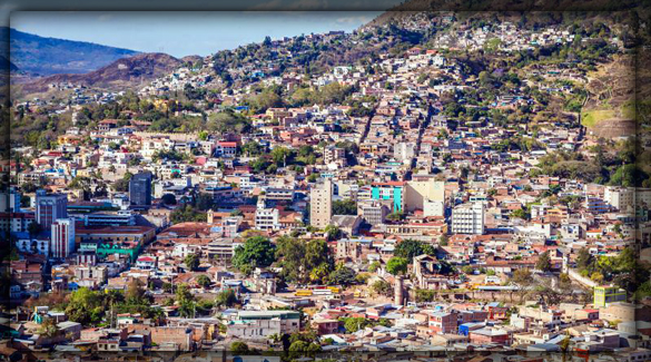 Тегусигальпа -столица Гондураса
