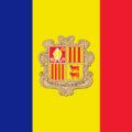 Флаг Андорры (Flag of Andorra)