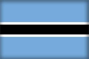 Флаг Республики Ботсвана