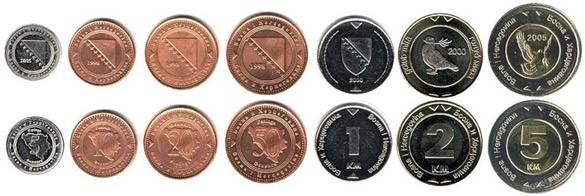 Монеты Боснии и Герцеговины
