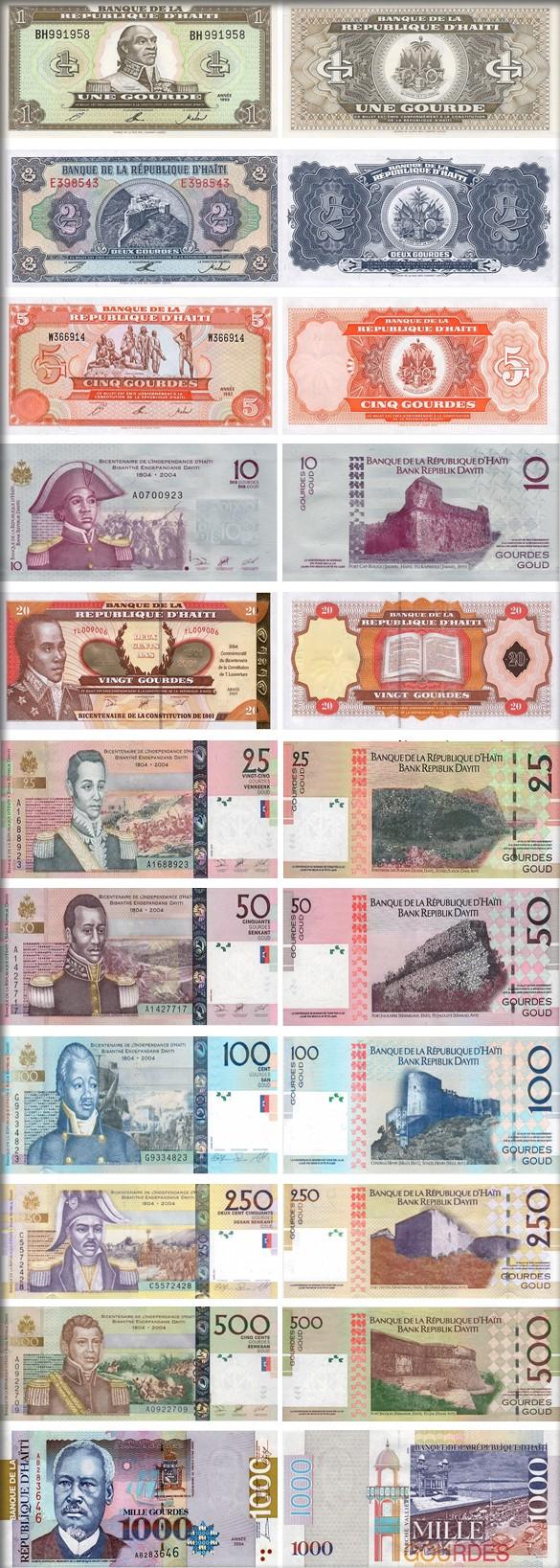 Банкноты Гаити
