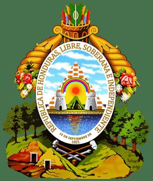 герб Гондураса (coat of arms Honduras)