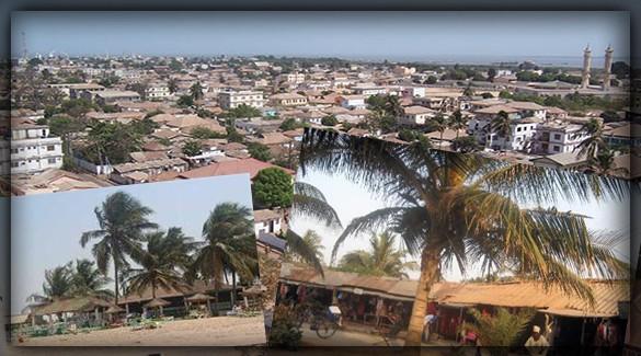 города Гамбии