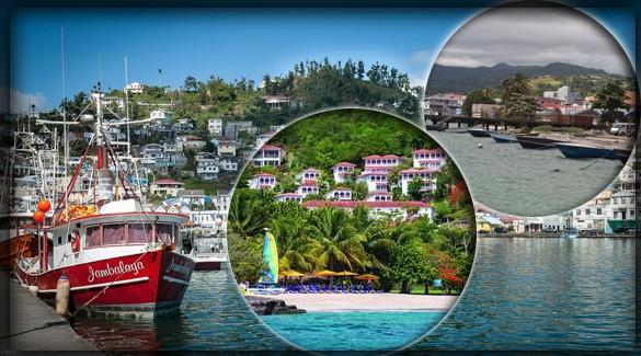 Крупнейшие города Гренады