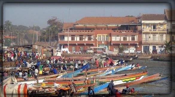 город Бисау - столица Гвинеи-Бисау