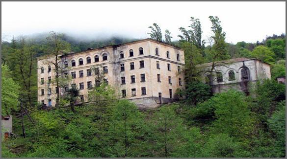 город Ткуарчал. Абхазия