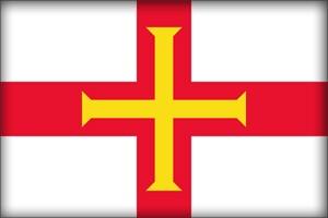 флаг Гернси (flag of Guernsey)