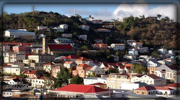 Сент-Джорджес - столица Гренады