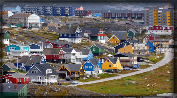 Нуук - столица Гренландии