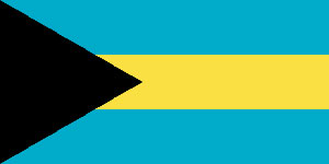 флаг Багамских островов