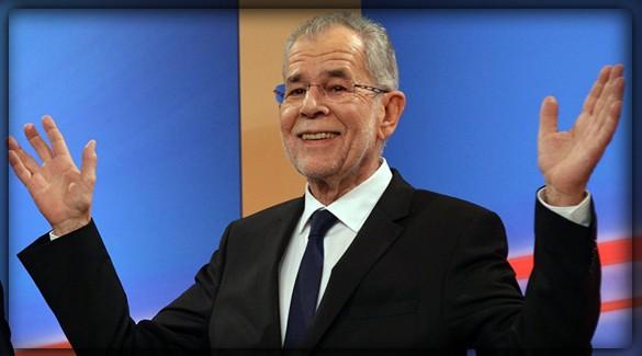 Александр Ван дер Беллен (Alexander Van der Bellen) - девятый президент Второй Австрийской Республики