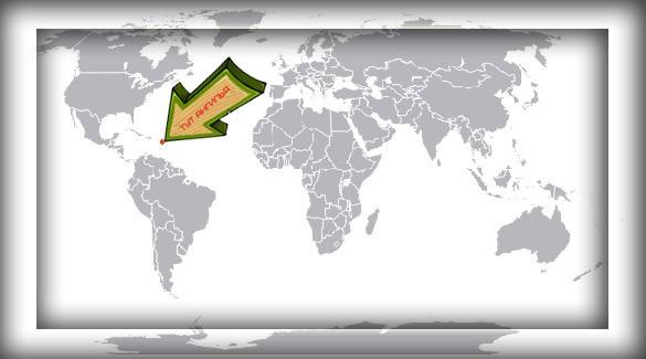 Ангилья на карте мира