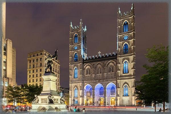 Базилика Нотр-Дам де Монреаль - Канада