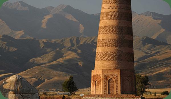 Башня Бурана - Киргизия