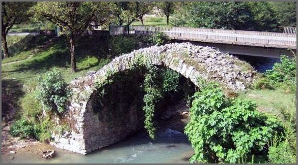 Беслетский мост. Абхазия