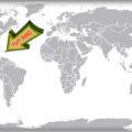 Британские Виргинские острова на карте мира