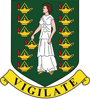 герб Британских Виргинских островов