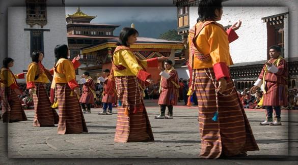 население Бутана