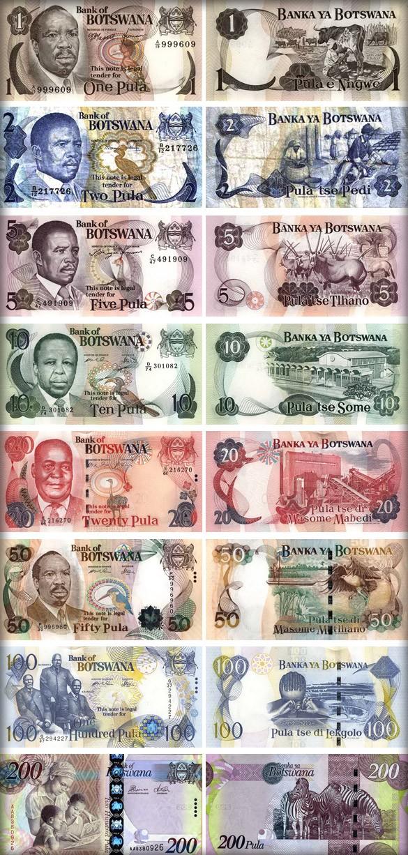 Банкноты Ботсваны