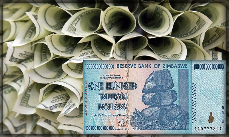 Валюта Зимбабве