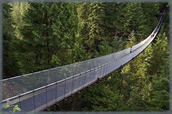 Висячий мост Капилано - Канады