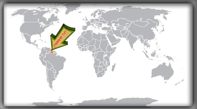 местоположение Гайаны