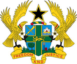 герб Ганы (coat of arms of Ghana)