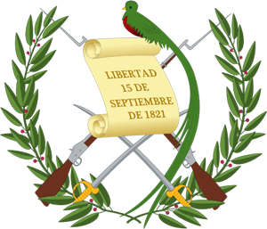 герб Гватемалы (coat of arms of Guatemala)
