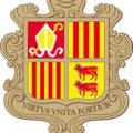 Герб Андорры (Coat of arms of Andorra)