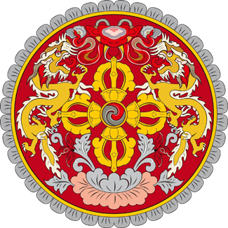 Герб Бутана ( Coat of arms of Bhutan)