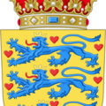 Герб Дании (coat of arms of Denmark)