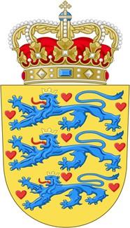 Герб Дании (coat of arms of Denmark)