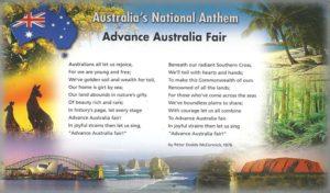 гимн Австралии