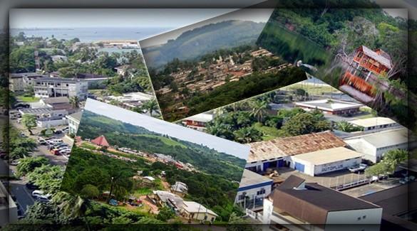 Крупнейшие города Габона