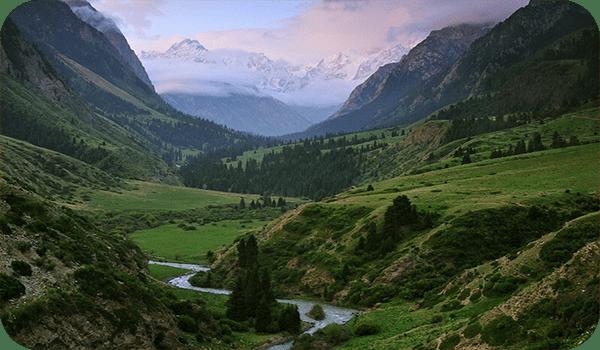 Горы Тянь-Шань - Киргизия