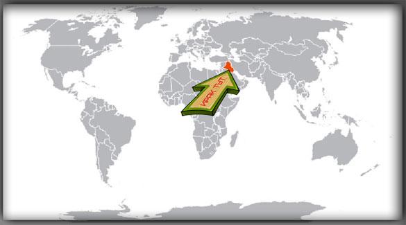 Ирак на карте