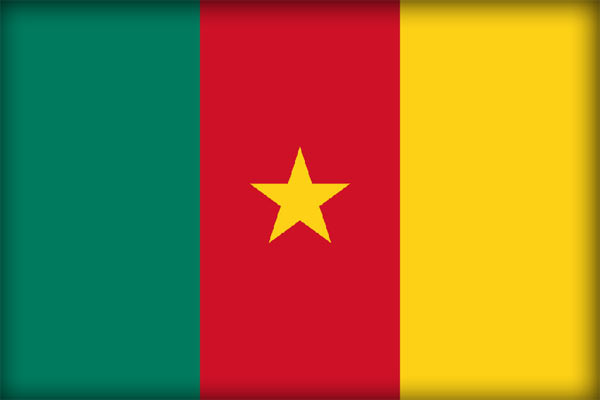 Флаг Республики Камерун