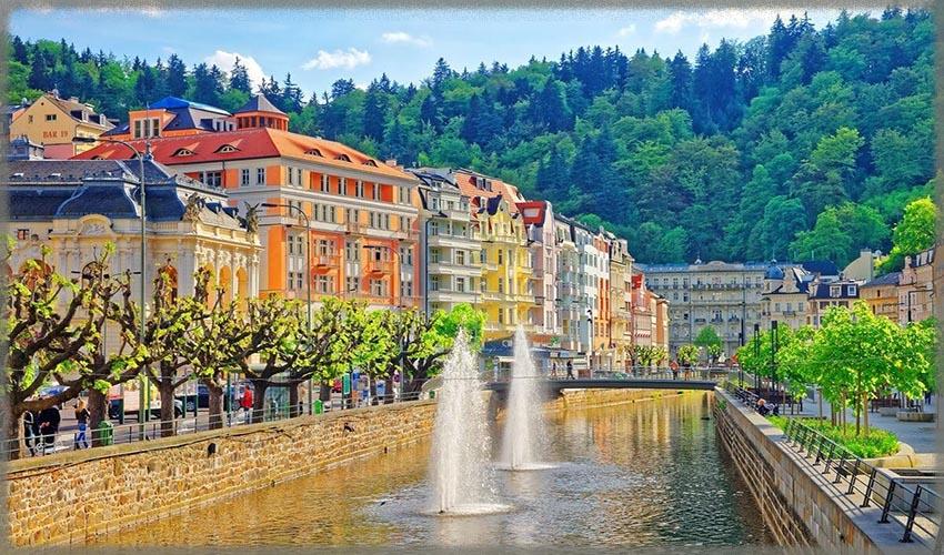 Карловы Вары - самый известный чешский курорт
