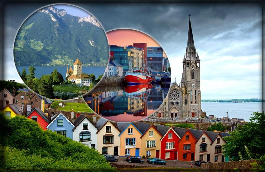 Крупнейшие города Ирландии